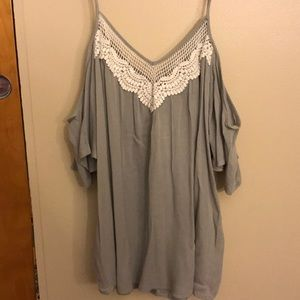 Charlotte Russe Open Arm Blouse